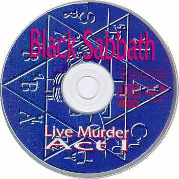 Black Sabbath Live Murder Act I Amp Ii